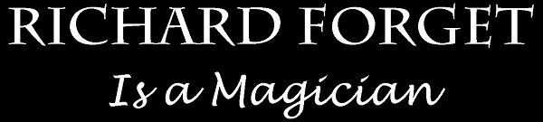 Richard Forget Magic Mobile Logo